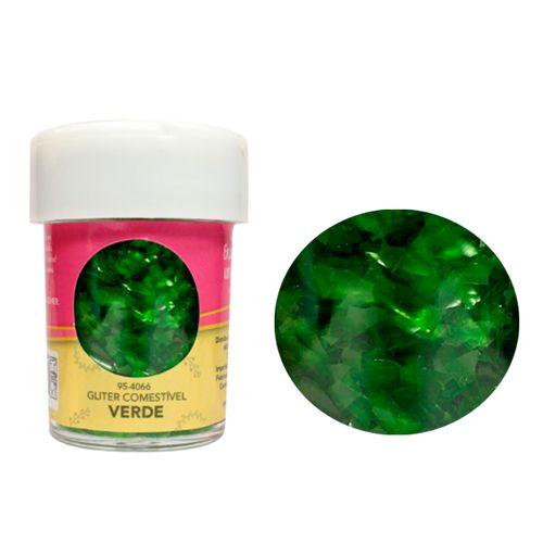 Glitter Comestível para Decoração de Doces (7,08g) Celebrate - Verde
