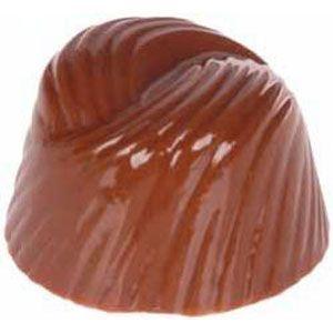 Molde para Chocolate em Policarbonato - Bombom Trabalhado