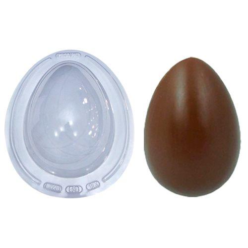 Forma de Chocolate Ovo de Páscoa Acetato e Silicone 1kg - BWB