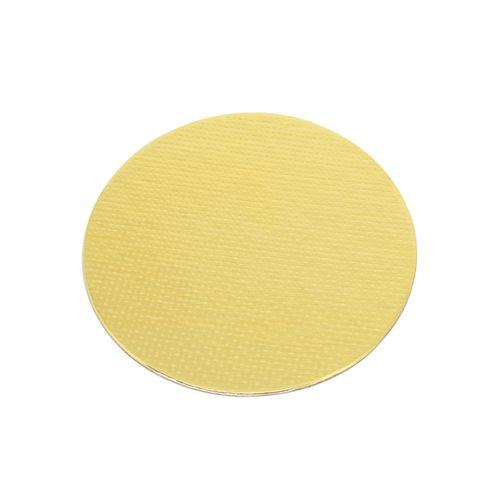 Base Laminada Redonda Dourada para Bolos 18,0cm (5uni)