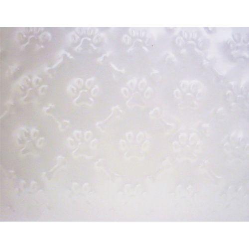 Placa de Textura Flexível para Chocolate e Bolo Pata e Osso (2,0m x 20cm) - BWB