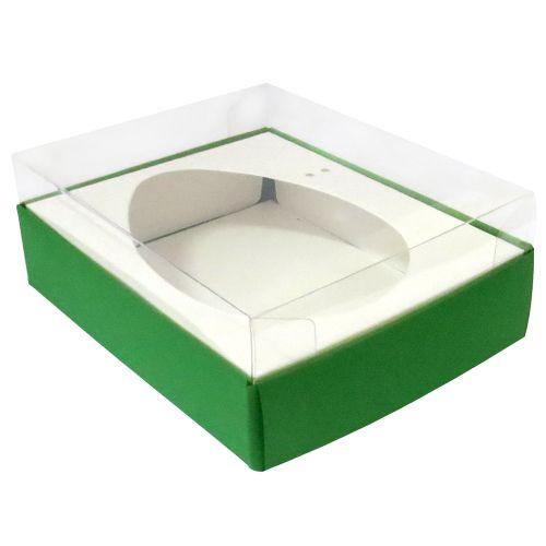 Caixa Ovo de Colher 350/400g Verde (10uni) - ArtCrystal