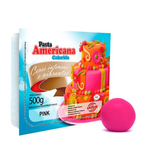Pasta Americana Pink 500g - Arcolor