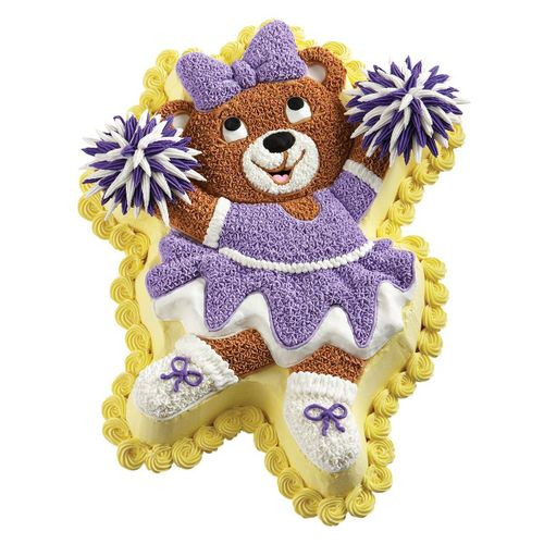 Assadeira Bolo Ursa Bailarina Ballerina Bear Pan - Wilton