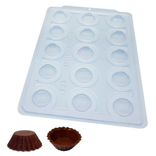 Forma de Chocolate Acetato com Silicone Forminha para Brigadeiro - BWB Premium