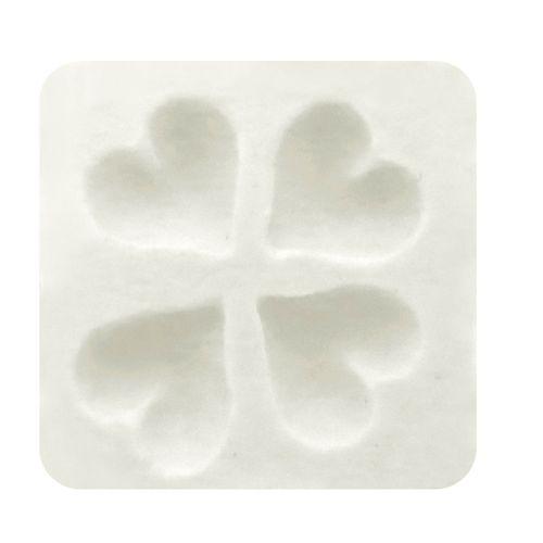 Molde de Silicone 4 Corações - Gummies