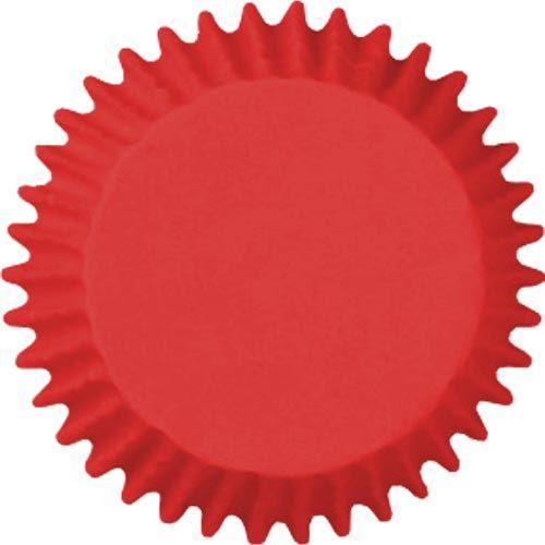 Forminha para Mini Cupcake Mago (45uni) - Vermelha