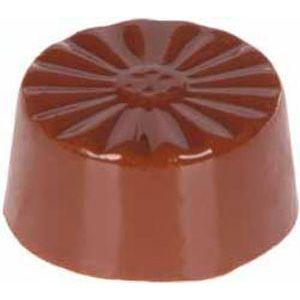 Forma de Chocolate em Policarbonato Bombom Redondo - Gramado Injetados