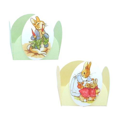 Forminha 4 Pétalas Peter Rabbit (24uni) - Papel Confeito