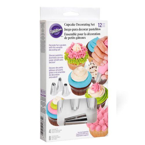 12 Piece Cupcake Decorating Set - Wilton