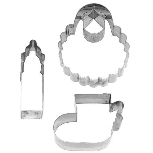 Kit cortadores - Baby Médio