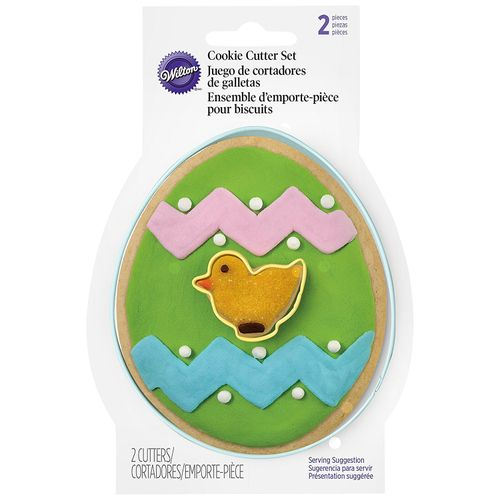 Cortador Ovos Easter Egg Cookie Cutter Set - Wilton
