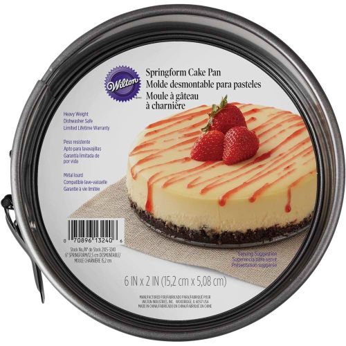 Springform Cake Pan (15,2 x 6,99cm) - Wilton