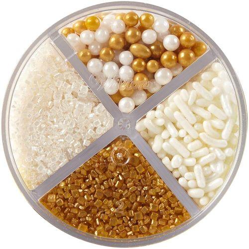 Kit de Confeitos Sprinkles Gold Mix (108g) - Wilton