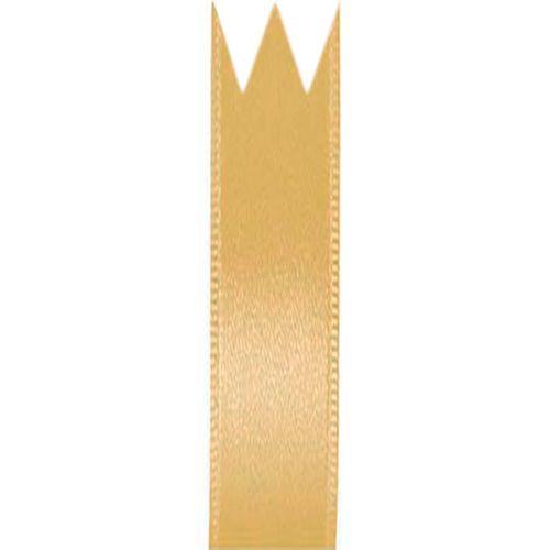 Fita Cetim Simples Ouro (1,0cm x 10m) - Progresso