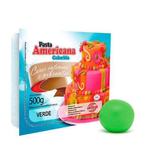 Pasta Americana Verde 500g - Arcolor