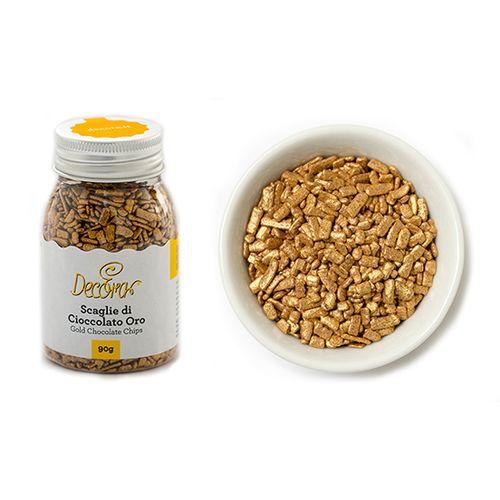 Granulado Dourado (90g) - Decora