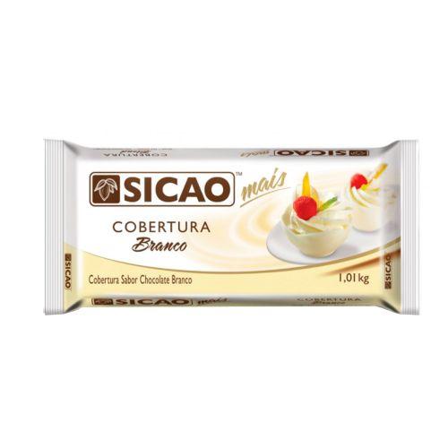 Cobertura Sicao Mais Chocolate Branco (1,01kg) - Sicao