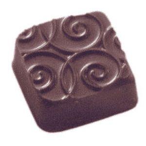 Placa de Textura para Chocolate e Bolo (40 x 30cm) - Arabesco