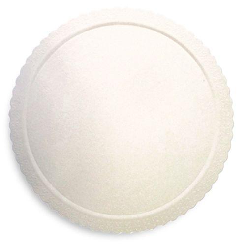 Base para Bolo Cakeboard Redonda Branca 35cm (10uni) – Ultrafest