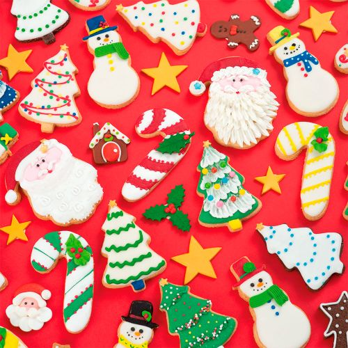 Kit Cortadores Papai Noel (2pcs) - Decora