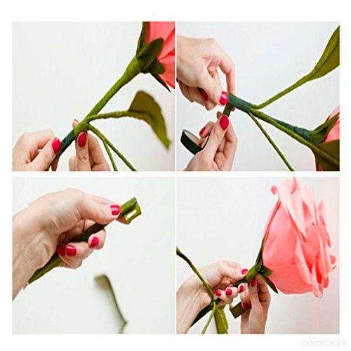Fita Floral Adesiva Marrom (1,2cm x 27m) - Decora