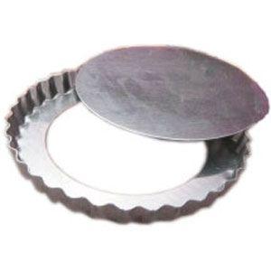 Forminha Torta Maçã Fundo Falso - 6,6 x 1,6cm (12 uni)