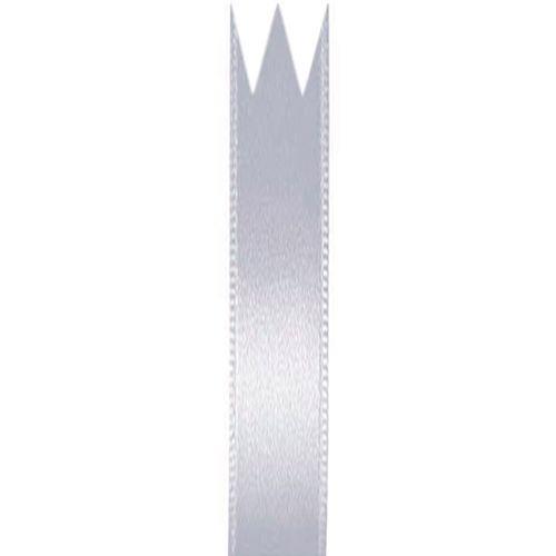 Fita Cetim Simples Prata (0,7cm x 10m) - Progresso