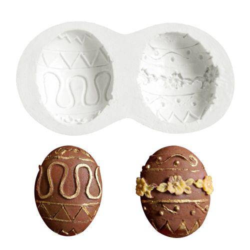 Molde de Silicone Páscoa Ovos de Páscoa 2 - Gummie