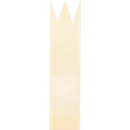 Fita Cetim Simples Creme (1,0cm x 10m) - Progresso