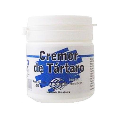 Cremor Tártaro 40g - Arcolor