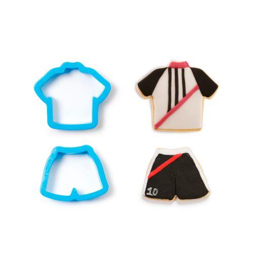 Kit Cortadores Shorts e Camiseta (2pcs) - Decora