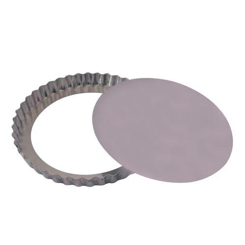 Forma Torta Maça Fundo Falso (21 x 3cm) - Doupan