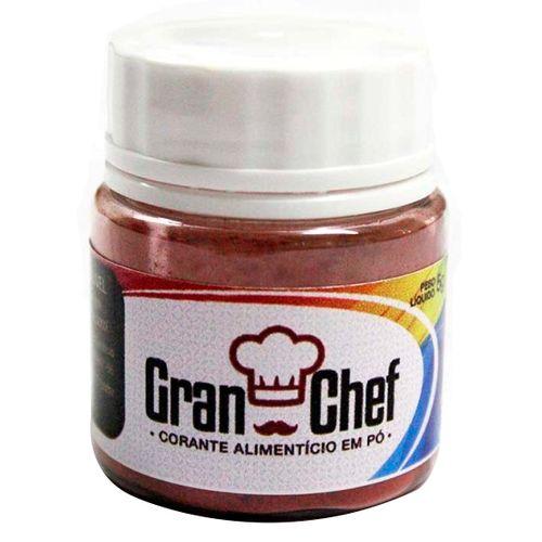 Corante Hidrossoluvel em Pó (5g) Gran Chef - Vermelho