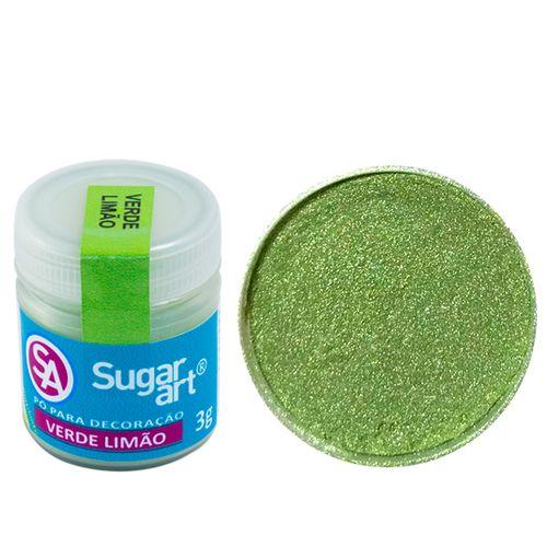 Corante em Pó 3g Sugar Art - Verde Limão