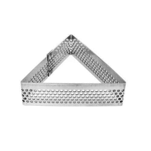 Aro Perfurado Triângulo (7,0 x 6,1cm) - Doupan