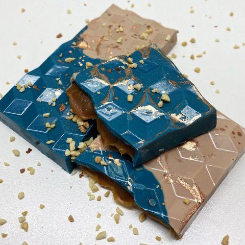 Forma de Chocolate em Acetato com Silicone Tablete/Barra Tablete 3D - BWB