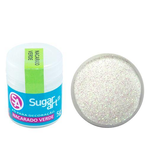 Corante em Pó 5g Sugar Art - Nacarado Verde