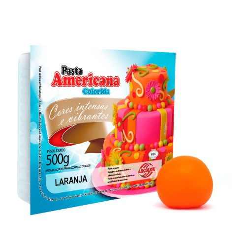 Pasta Americana Laranja 500g - Arcolor