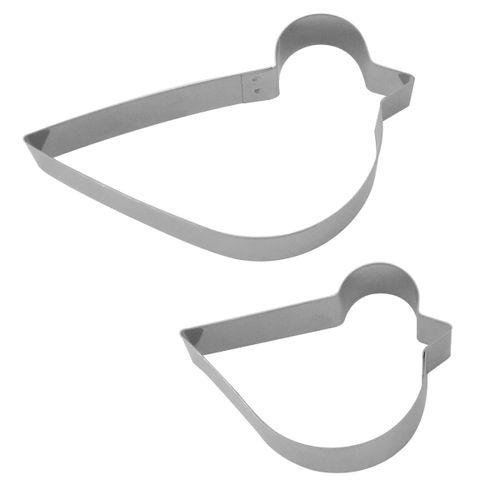 Kit Cortadores Pássaro 4 (Patinho) - RM
