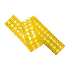 Fita Xadrez Progresso (0,5cm x 10m) - Amarelo Ouro