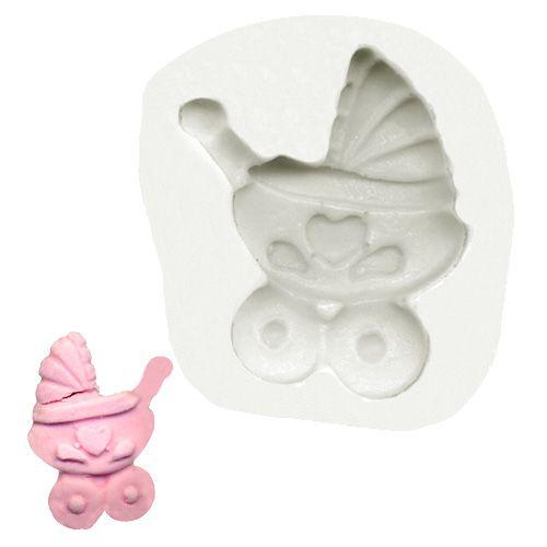 Molde de Silicone Carrinho de Bebê 2 - Gummies