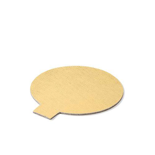 Base Laminada Redonda Dourada para Doces 5,0cm (25uni)