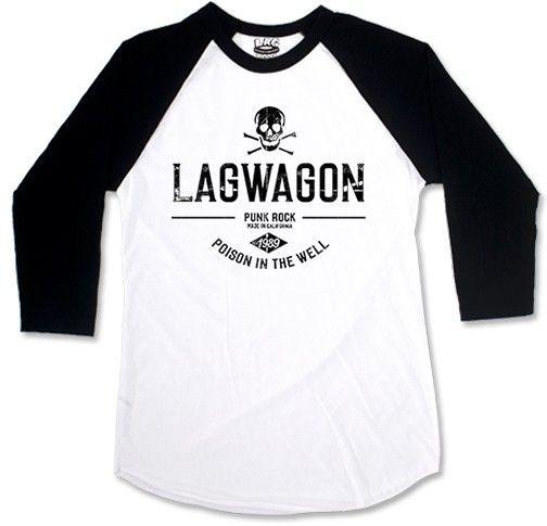 Lagwagon - Poison In The Well [Raglan 3/4]