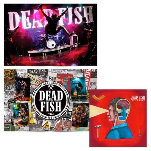 Combo: Dead Fish - Ponto Cego + Pôster 30 Anos