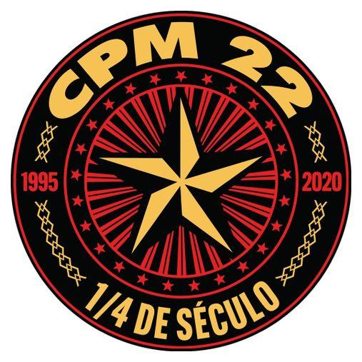 CPM 22 - 1/4 de Século [Adesivo]