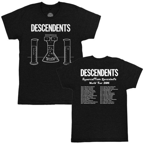 Descendents - Hypercaffium Spazzinate World Tour [Mescla Escuro]