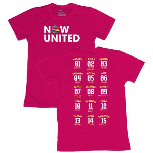 Now United - Classic Logo [Camiseta Rosa]