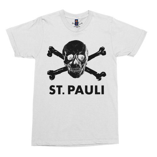 St. Pauli - Skull and Crossbones [Camiseta Branca]