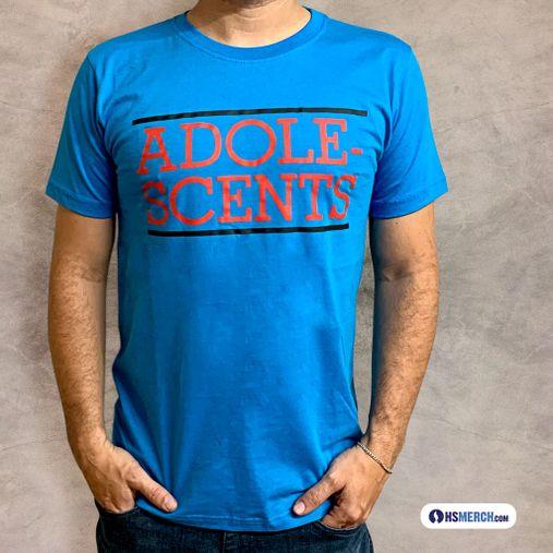 Adolescents - Classic Logo [Azul Turquesa]